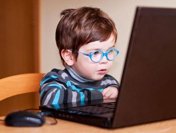 компьютер глазами детей рисунок
